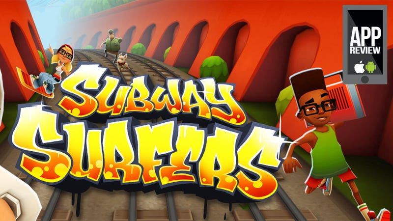 Illustration for article titled Subway Surfers Should Be Super Dorky, But I Kinda Like It