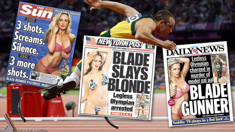 Illustration for article titled Newspapers Report that Awesome Athlete Oscar Pistorius May Have Killed Some Hot Chick