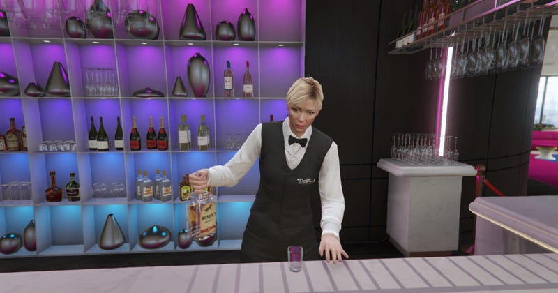 Illustration for article titled Getting Drunk In GTA Online's Casino Unlocks A New Secret Mission