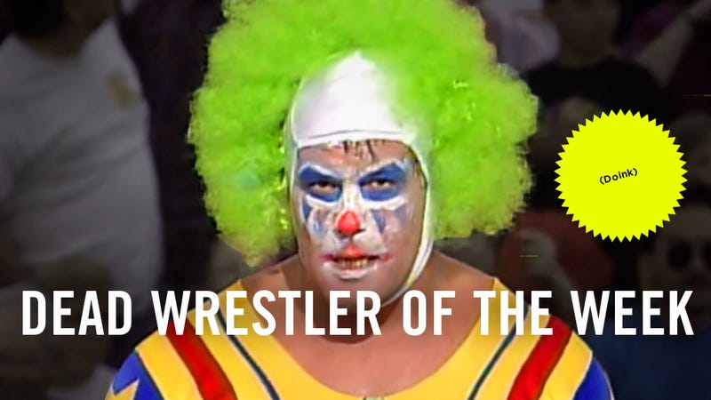 """Illustration for article titled Dead Wrestler Of The Week: """"Maniac"""" Matt Borne, AKA Doink The Clown"""