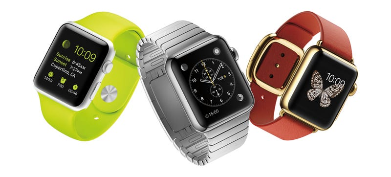 Illustration for article titled Whoa, the Apple Watch Has Wireless Charging