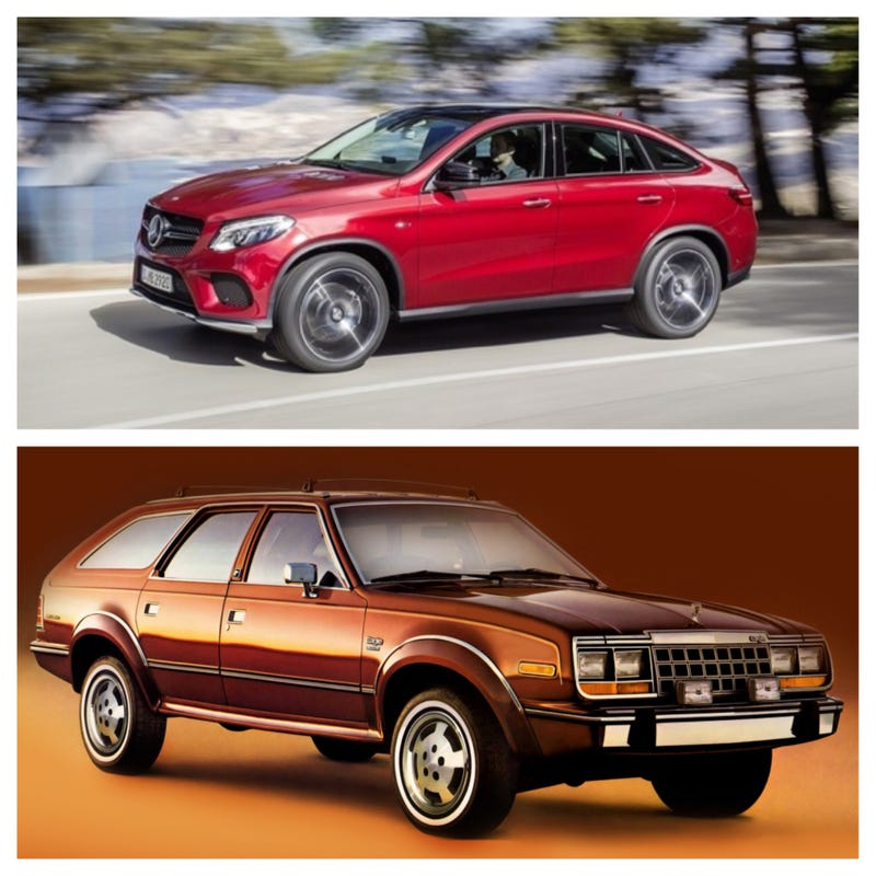 Illustration for article titled Exclusive leak: Mercedes' inspiration for the GLE