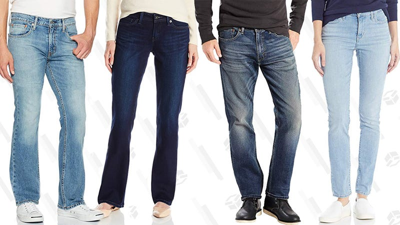 Up to 50% off Jeans at Amazon