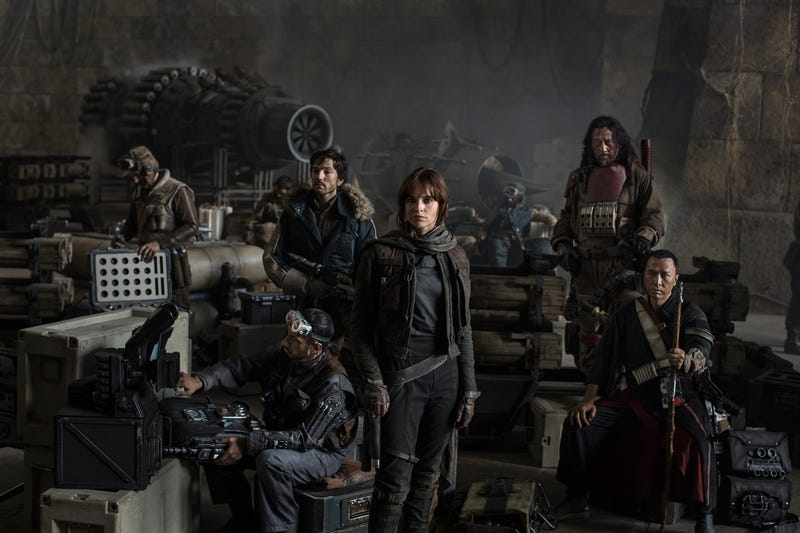 Primera imagen oficial de Star Wars: Rogue One, el primer spin-off de la saga