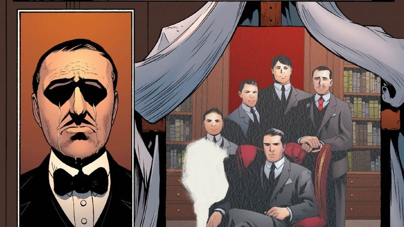 Illustration for article titled Batman's Crying Butler Is My Favorite Scene from This Week's Comics. What's Yours?