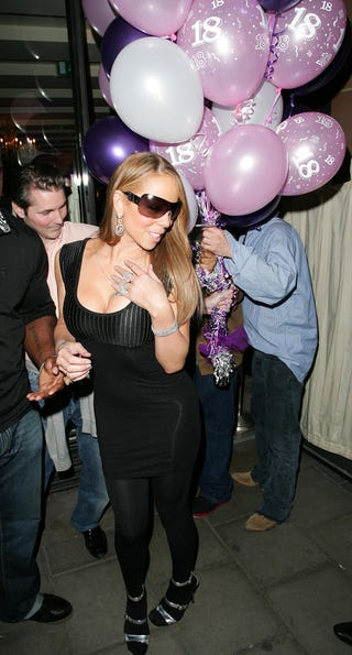 Illustration for article titled Mariah's Big Balloons