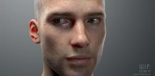 Illustration for article titled Unbelievably realistic face is actually completely computer generated