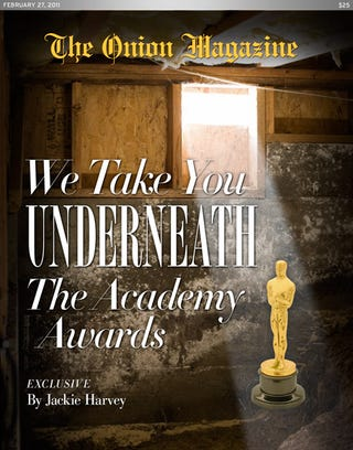Illustration for article titled We Take You Underneath The Academy Awards