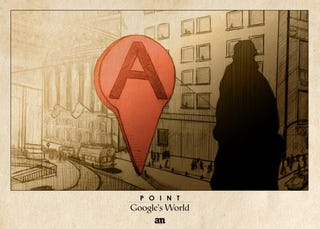 Illustration for article titled Artist's Drawings Show What Google Maps Icons Would Look Like In The Real World