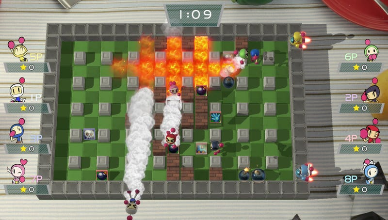 Illustration for article titled Who's Excited About The Return Of Bomberman?