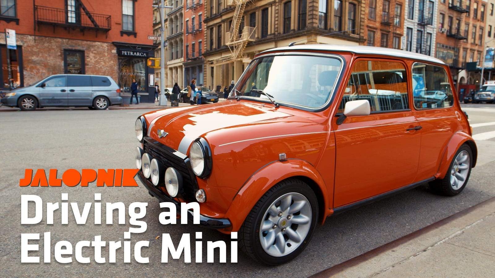 An Electric Mini Might Be The Perfect City Car