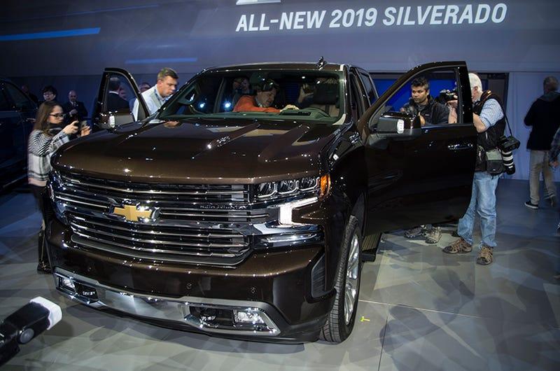 2018 - [Chevrolet / GMC] Silverado / Sierra Wk6q0gxnpftkdnahc46g