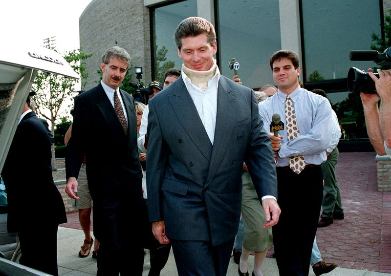 ed61a60f7 Vince McMahon's Defiant Paranoia Was Shaped By His Steroid Trial