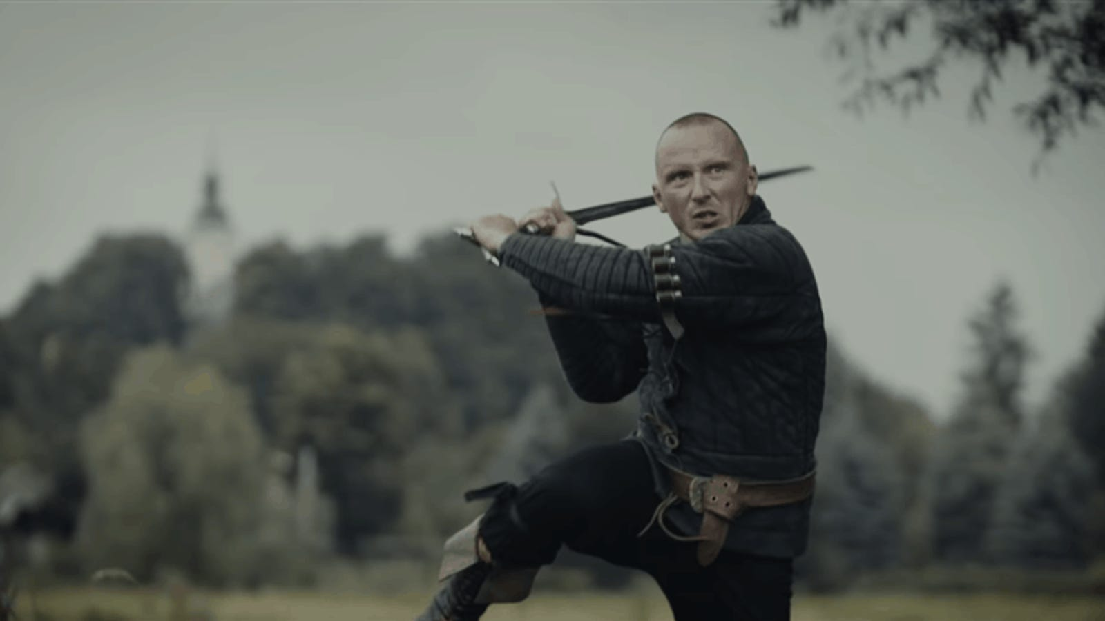 Geralt's Motion Capture Actor Is Very Handy With A Sword