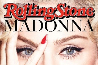 Illustration for article titled Madonna Nixes 'Boring' Lady Gaga Feud In ​Leaked Rolling Stone Cover