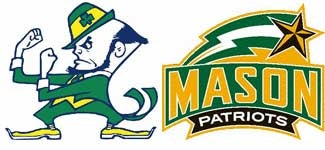 Illustration for article titled NCAA Pants Party: Notre Dame Vs. George Mason