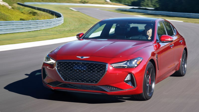 Illustration for article titled There Will Be No M3-Slaying Genesis G70: Report