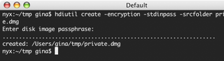 Illustration for article titled Create an encrypted disk image at the command line