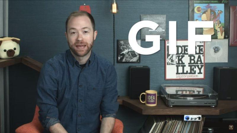 Do You Pronounce It GIF Or GIF? (Screenshot: YouTube)