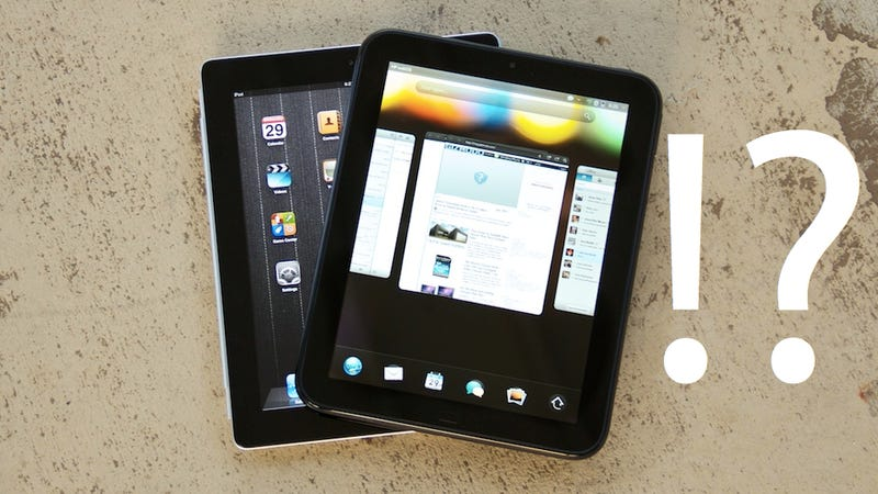 Illustration for article titled HP Exec: TouchPad Could Make a Comeback