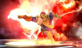 Illustration for article titled Smash Bros. Players Turned The Falcon Punch Into A Great Mini Game