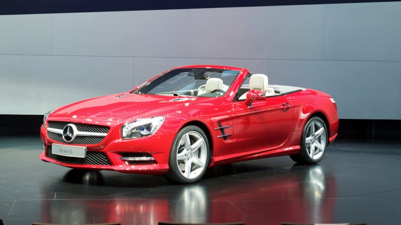 Illustration for article titled 2013 Mercedes-Benz SL: Detroit Auto Show Live Photos