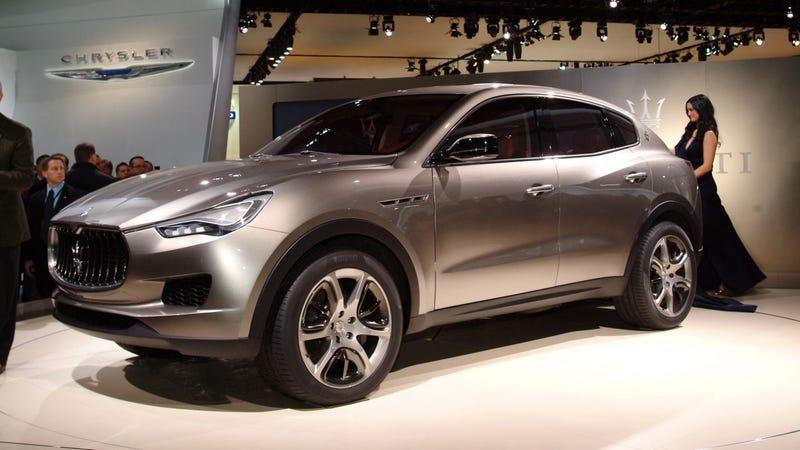 Illustration for article titled Maserati Kubang Concept: Powered By Ferrari, Built By Chrysler