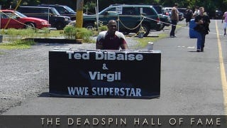 "Illustration for article titled 2012 Deadspin Hall Of Fame Nominee: Virgil, Pro Wrestling's Saddest Retired ""Superstar"""