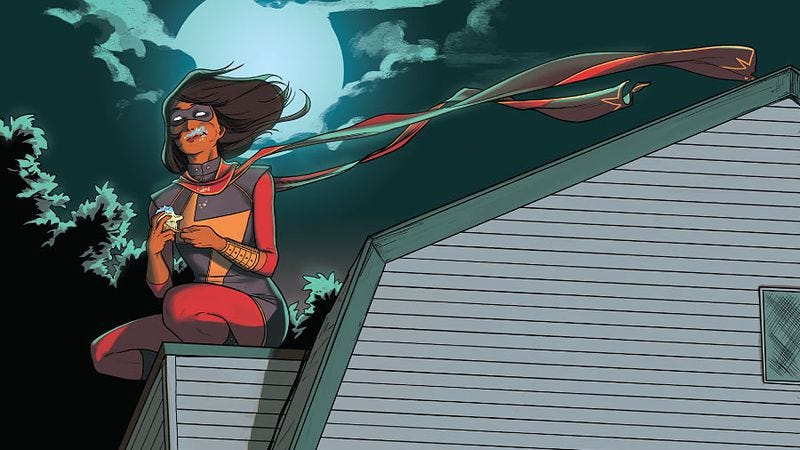 Illustration for article titled One year later, Ms. Marvel's influence is felt far beyond the comics page