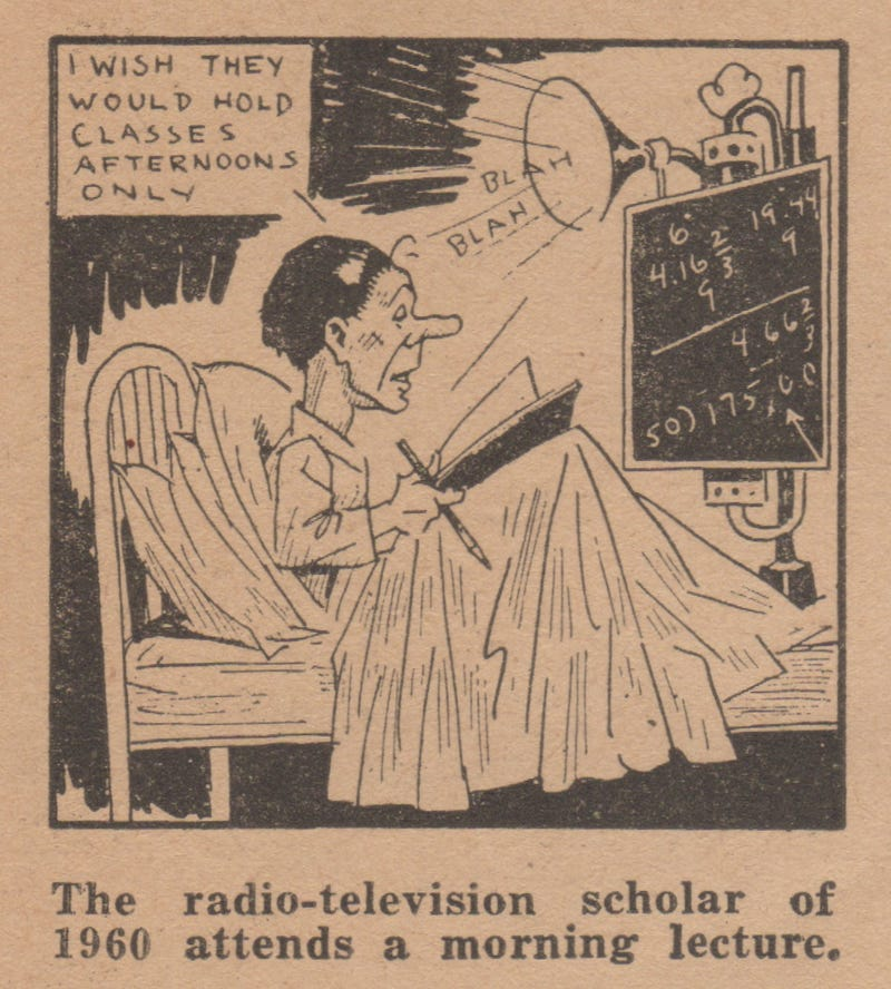 Illustration for article titled Depression-Era Teachers Predicted Online Schools Would Look Like This