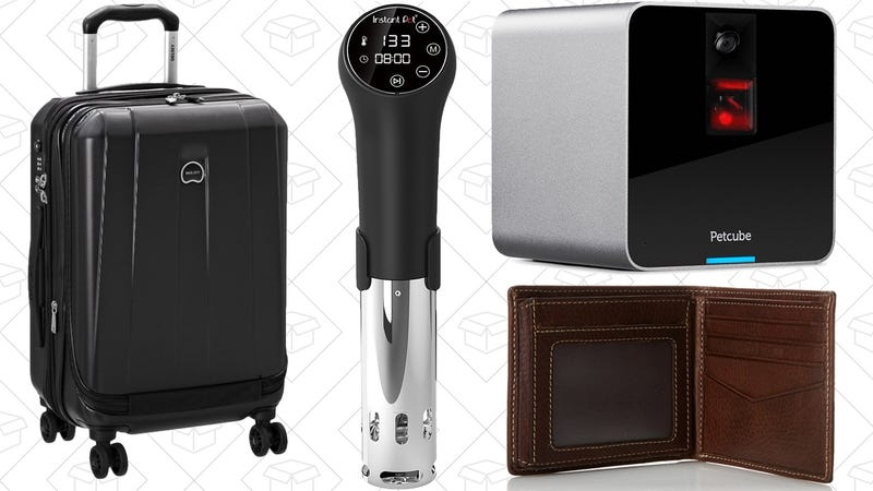 Today's Best Deals: Holiday Luggage Sale, Sous-Vide, Pet Supplies ...