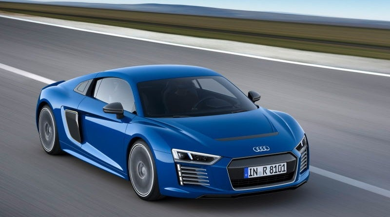 The Audi R8 E-Tron Is No More