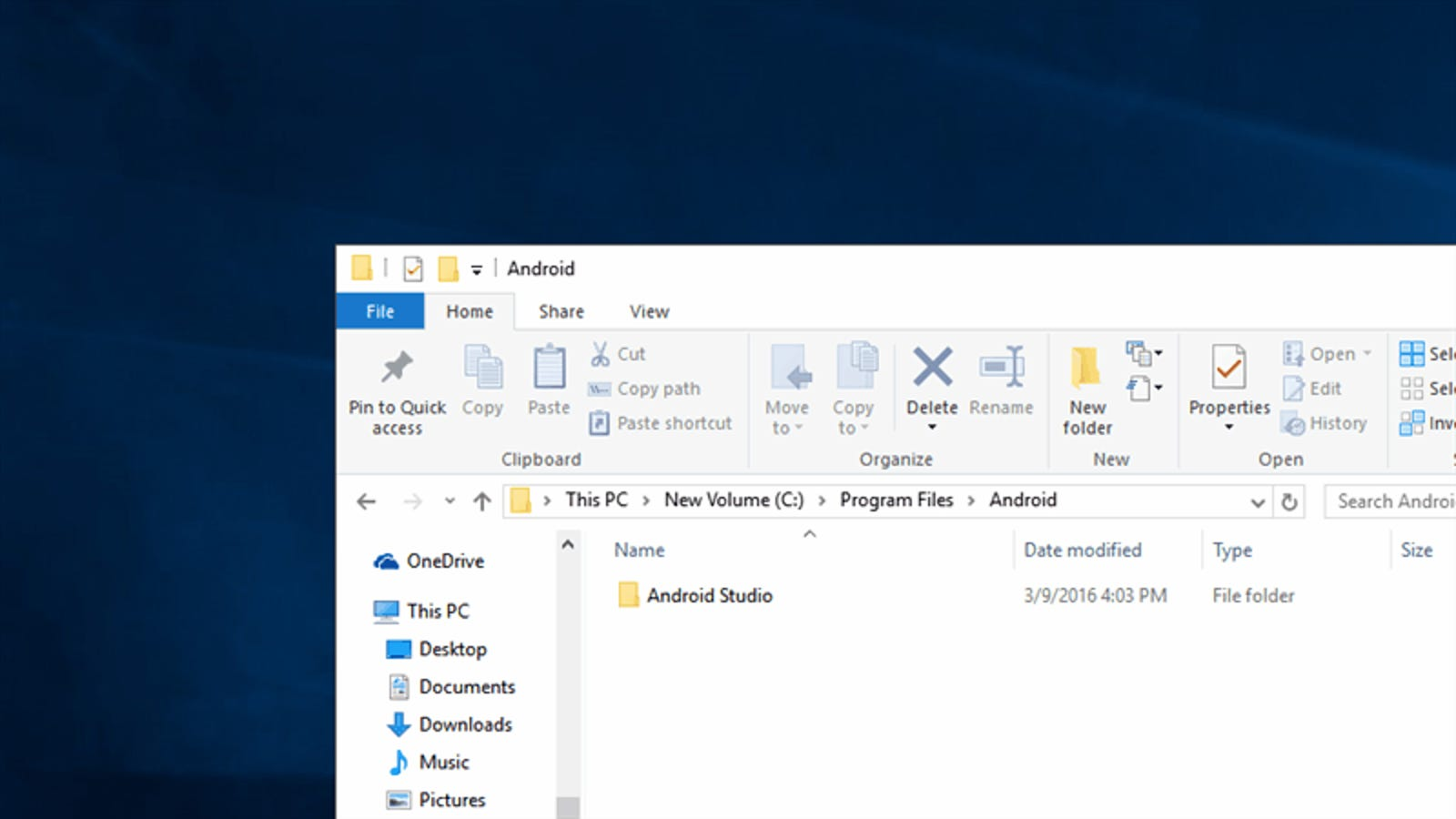 Quickly Open a Command Prompt from the Windows Explorer