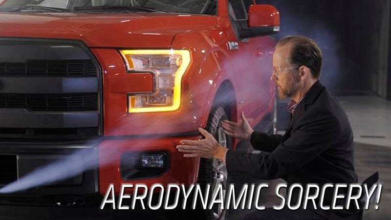 Illustration for article titled How Ford Squeezed Every Drop Of Aerodynamics Out Of The 2015 F-150