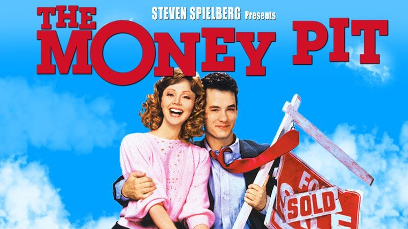 Image result for tom hanks in money pit