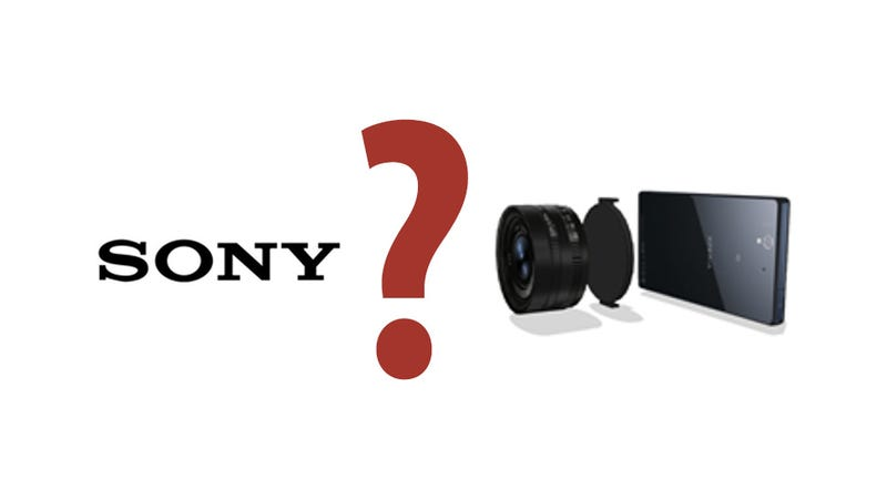 Illustration for article titled Sony Rumored to be Making Crazy New Camera System for Smartphones
