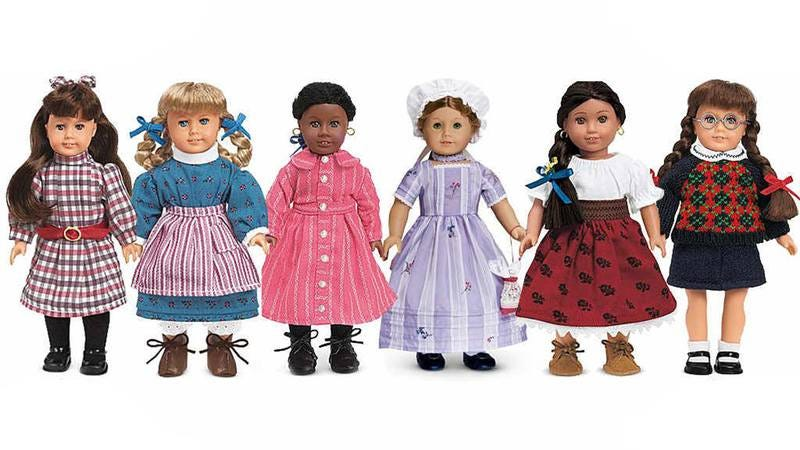how many of these american girl dolls did you own
