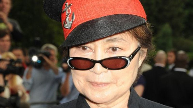 Illustration for article titled Yoko Ono