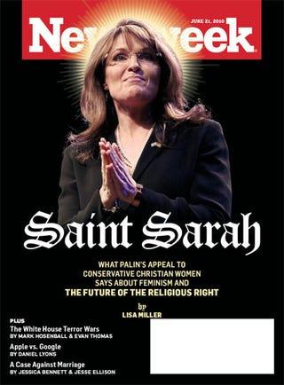 Illustration for article titled Sarah Palin, False Prophet