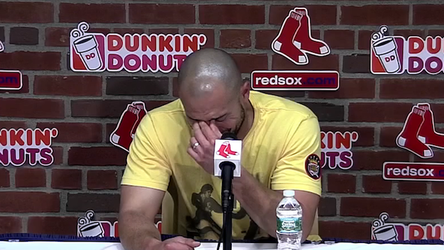 Shane Victorino Sad: The Red Sox traded outfielder Shane Victor…