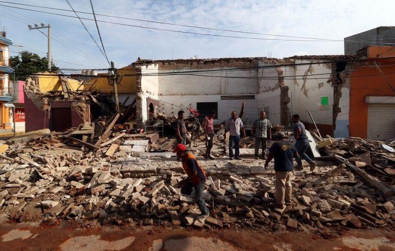 Illustration for article titled El mortal terremoto que arrasó México el pasado día siete tuvo su epicentro en un lugar muy poco común