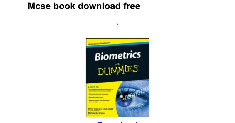 Illustration for article titled Mcse Notes Pdf Ebook Download