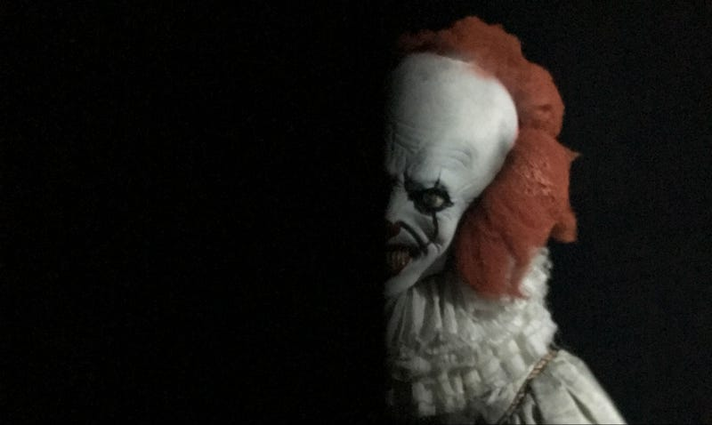 Pennywise is haunting Hollywood through September. All images: io9