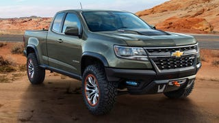 Illustration for article titled 2015 Chevrolet Colorado ZR2 Could Be A Righteous Compact Off-Roader