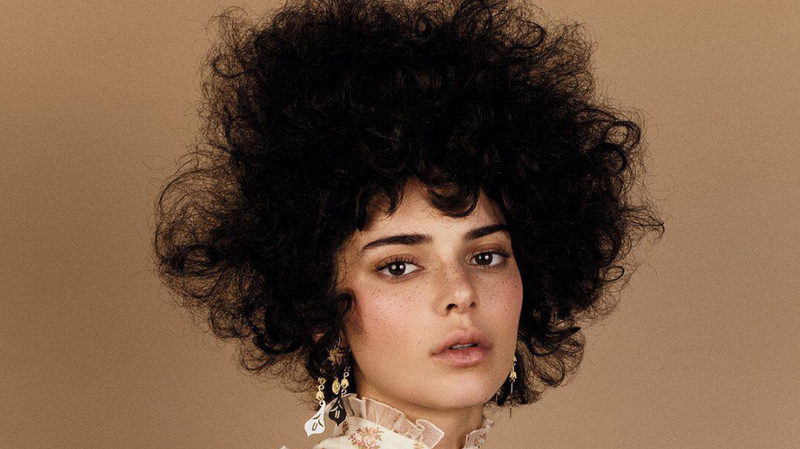 Image result for Kendall Jenner's 'Afro' In Vogue
