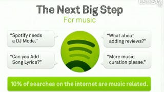 Illustration for article titled Spotify Updates with Apps, New Platform for Developers to Integrate Spotify Everywhere