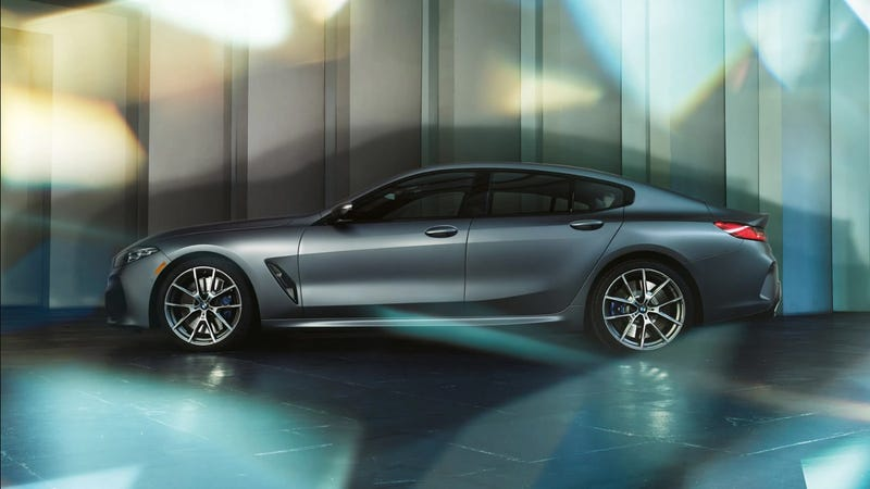 Illustration for article titled The BMW 8 Series Gran Coupe starts at $84,900