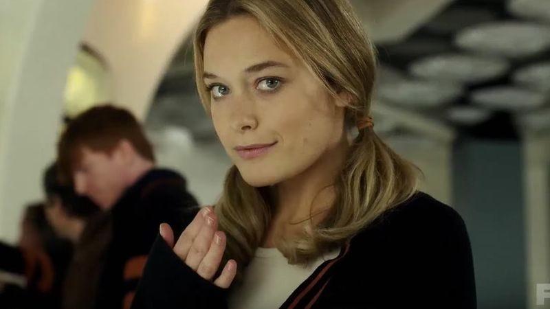 Rachel Keller as Sydney Barrett on Legion