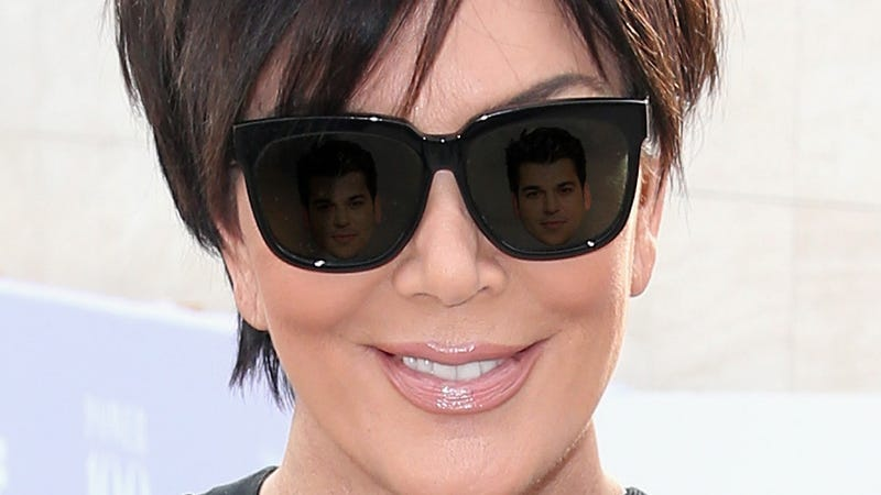Illustration for article titled Pray For Rob: Kris Jenner Was Just Photographed Arriving at Blac Chyna's House