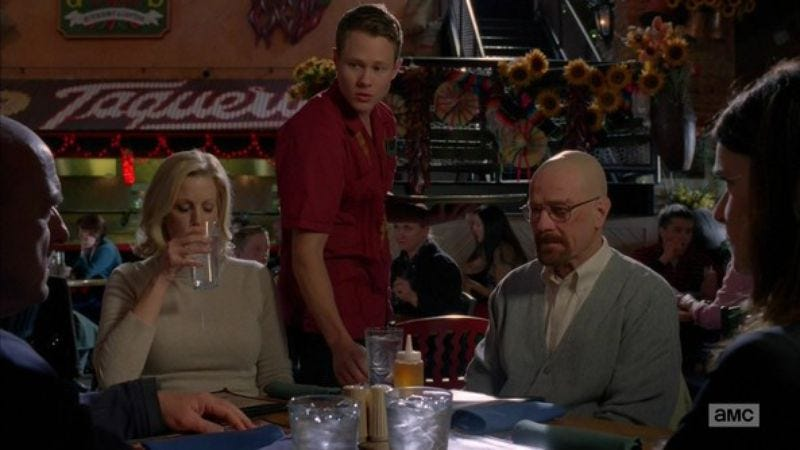 Illustration for article titled Breaking Bad is getting people hooked on table-side guacamole